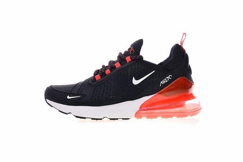 Nike Air Max 270 Flyknit noir rouge AH8060 016 | Nike air