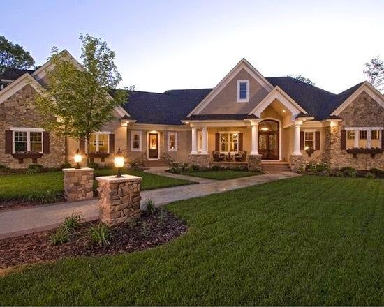 Home Channel Tv Design Inspiration For Ranch Style Homes Luxury House Plans Craftsman House Ranch Style Homes