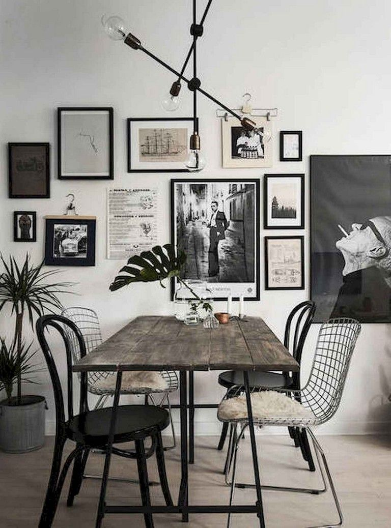 59 Gorgeous Dining Room Ideas And Decorations Minimalist Dining