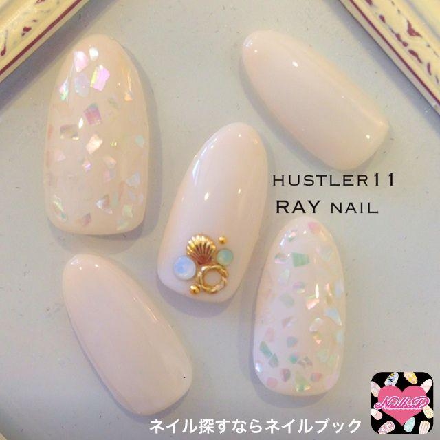 Ota Yumikoさんのホワイト,ワンカラー,ハンド,夏,ジェルネイル,チップネイル♪[488157]|ネイルブック