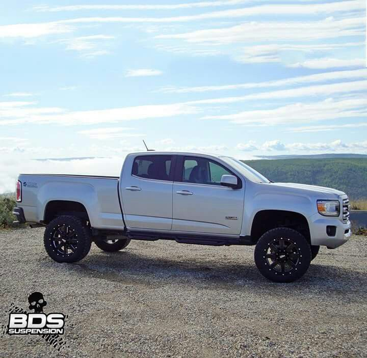 2015 Gmc Canyon All Terrain Lifted Gmc Canyon Chevy Colorado