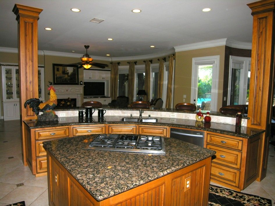 Ideas Resplendent Kitchen Island Granite Top Shapes With Curved Kitchen  Island Designs Also Rustic Chicken Decor