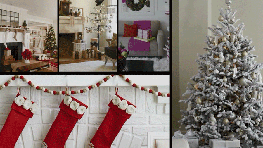 One of these five Christmas themes is sure to fit your style. Take a peek!/