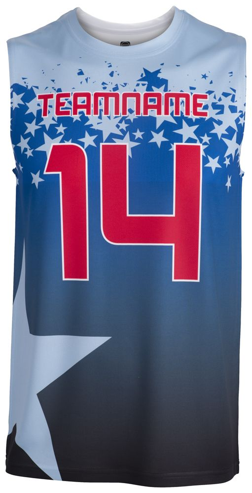 Glorious All Star Basketball Sleeveless Tee Shirts Forma Basket