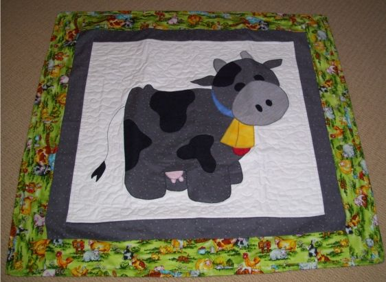 pig pattern for quilt | More information about Cow Applique ... : quilting information - Adamdwight.com