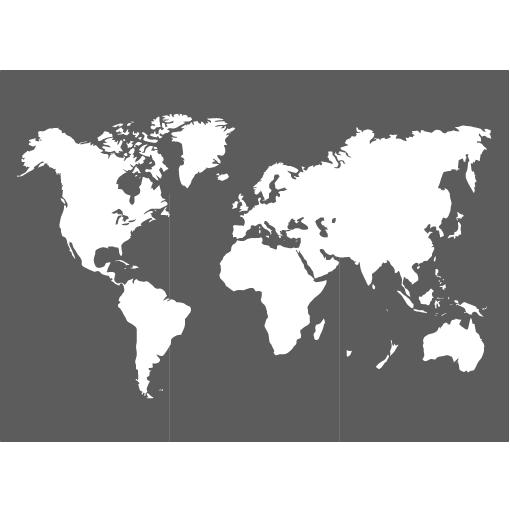 pochoir carte du monde Pochoir mappemonde | Carte du monde deco, Art carte du monde et