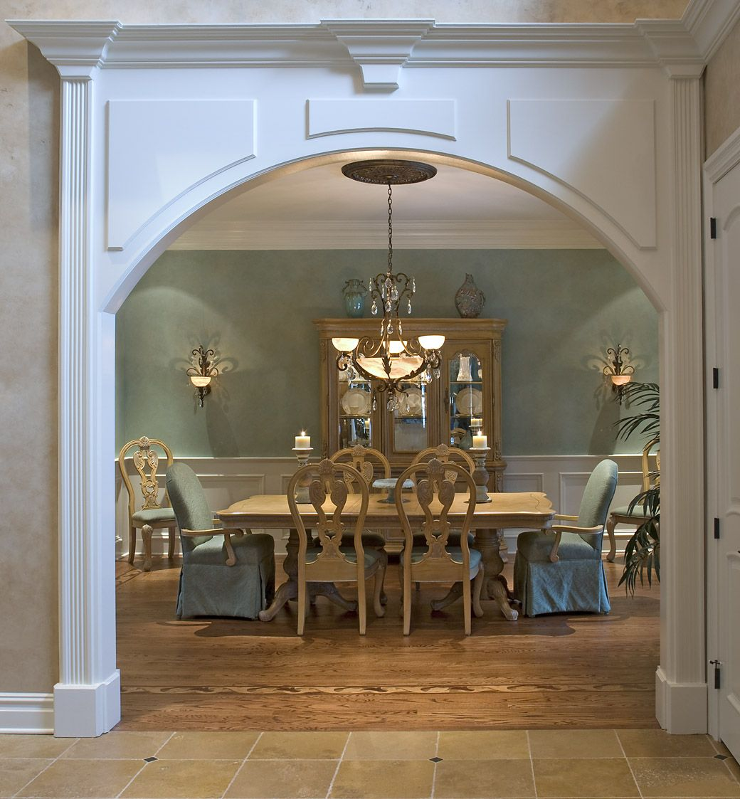 The Entrance To Your Dining Room Can Help Bring Life