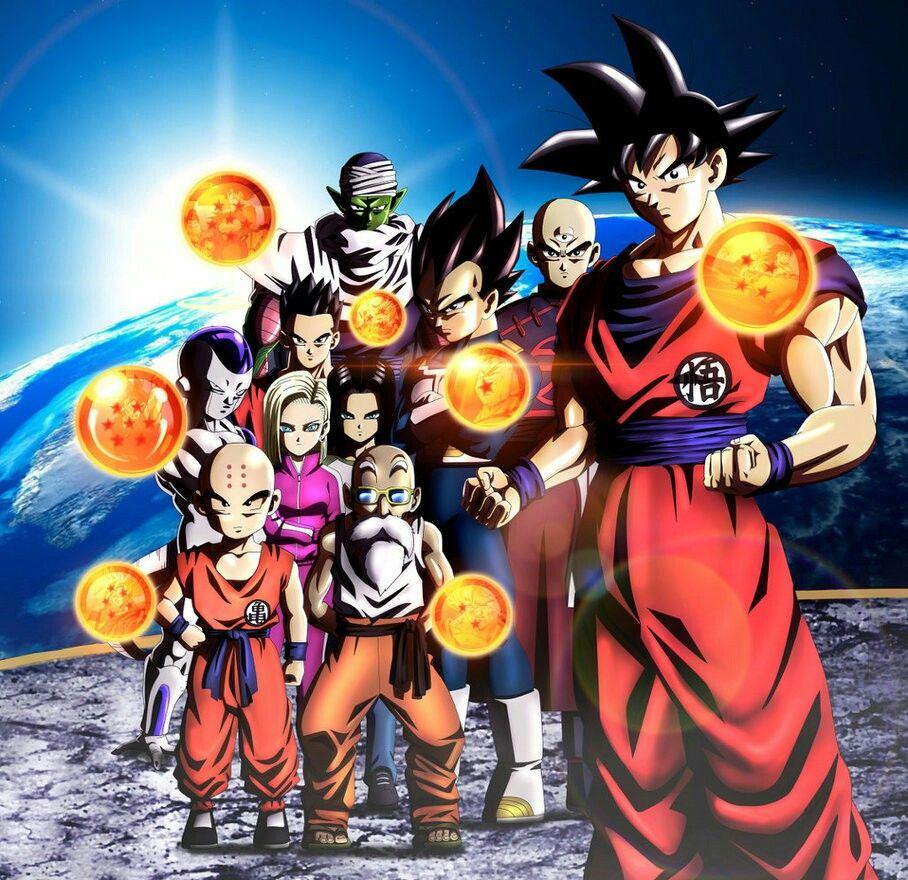 Los Guerreros Z Del Universo 7 Personajes De Dragon Ball Dibujo De Goku Personajes De Goku