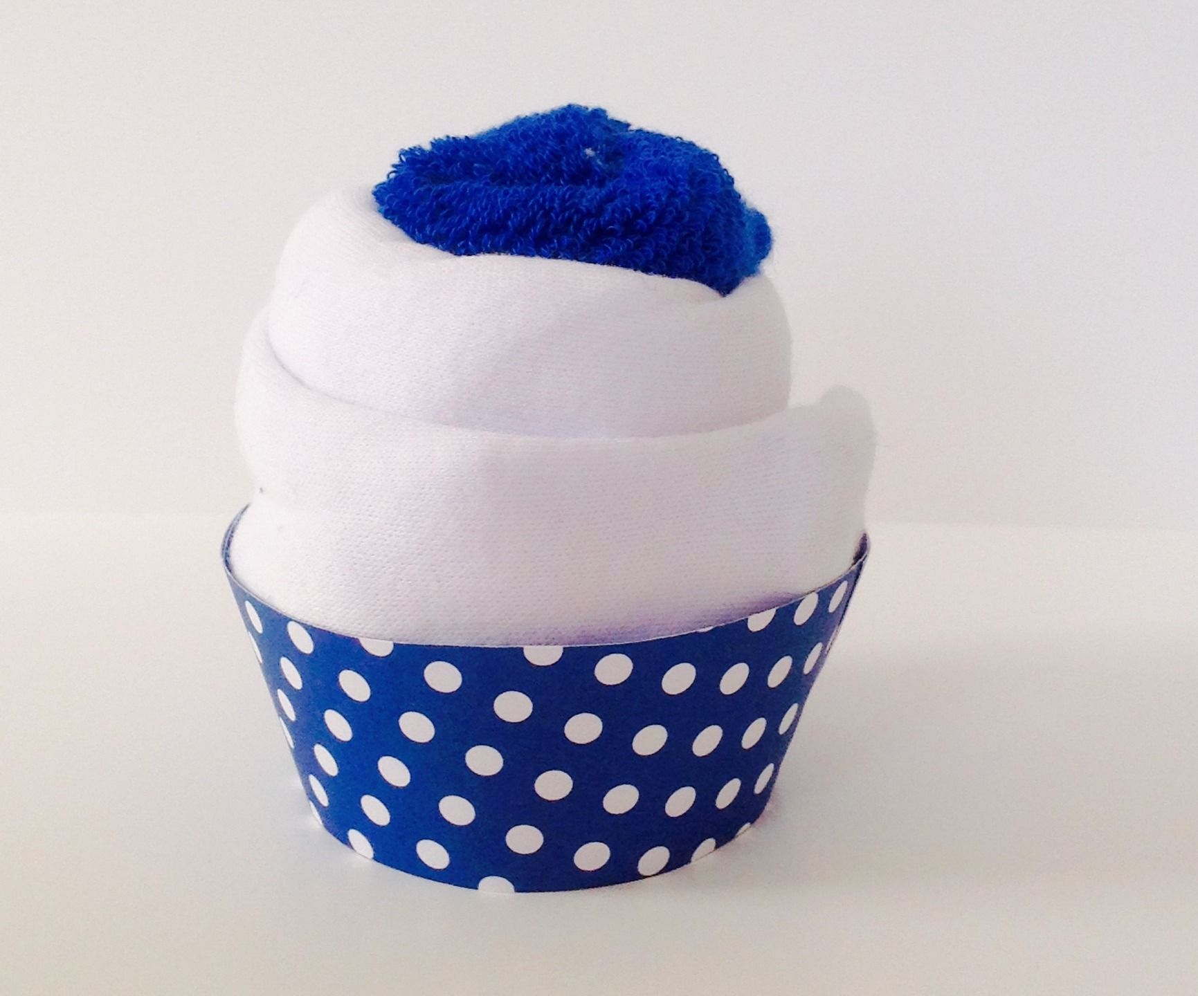 Cadeau de naissance cupcake