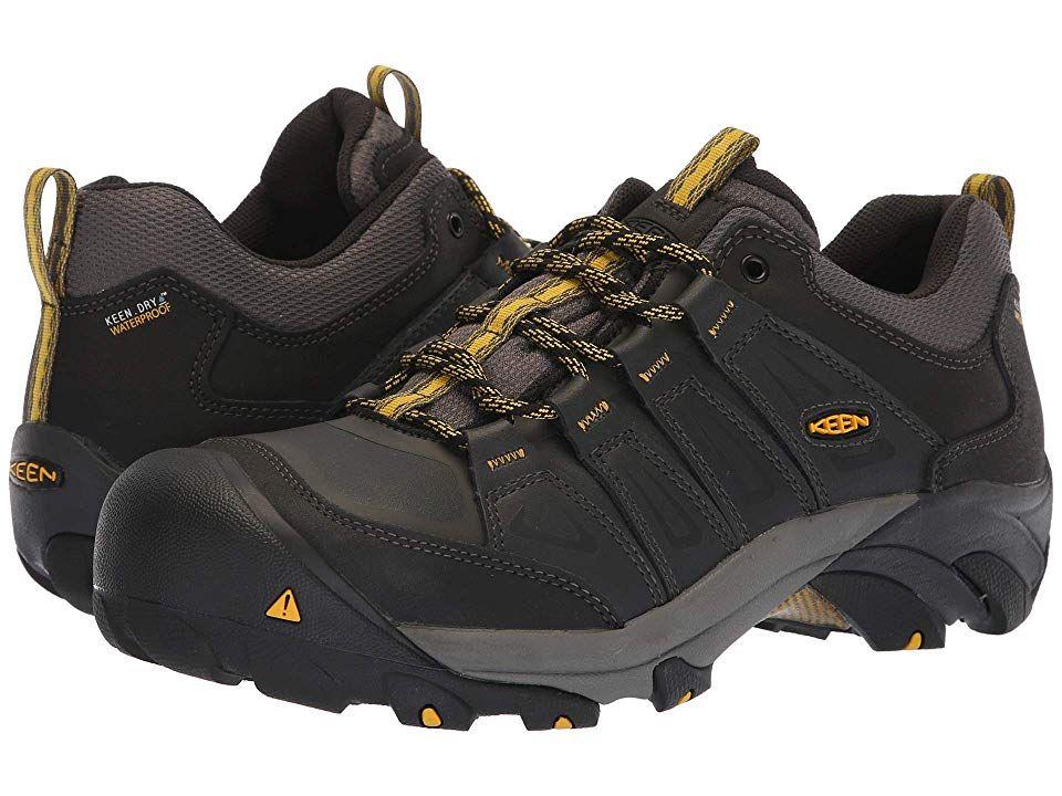 528f1125047 Keen Utility Boulder Steel Toe Waterproof Men's Work Boots Raven ...