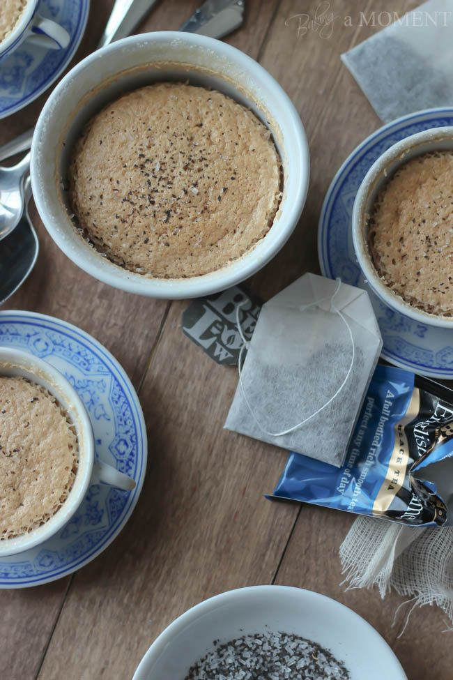 English Teatiime Pudding Cakes made with @Joan Brandon Tea by @Allison j.d.m Rice Baking a Moment #AmericasTea #shop #cbias