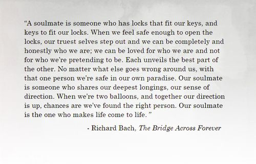 Reading 1 For Wedding The Bridge Across Forever By Richard Bach