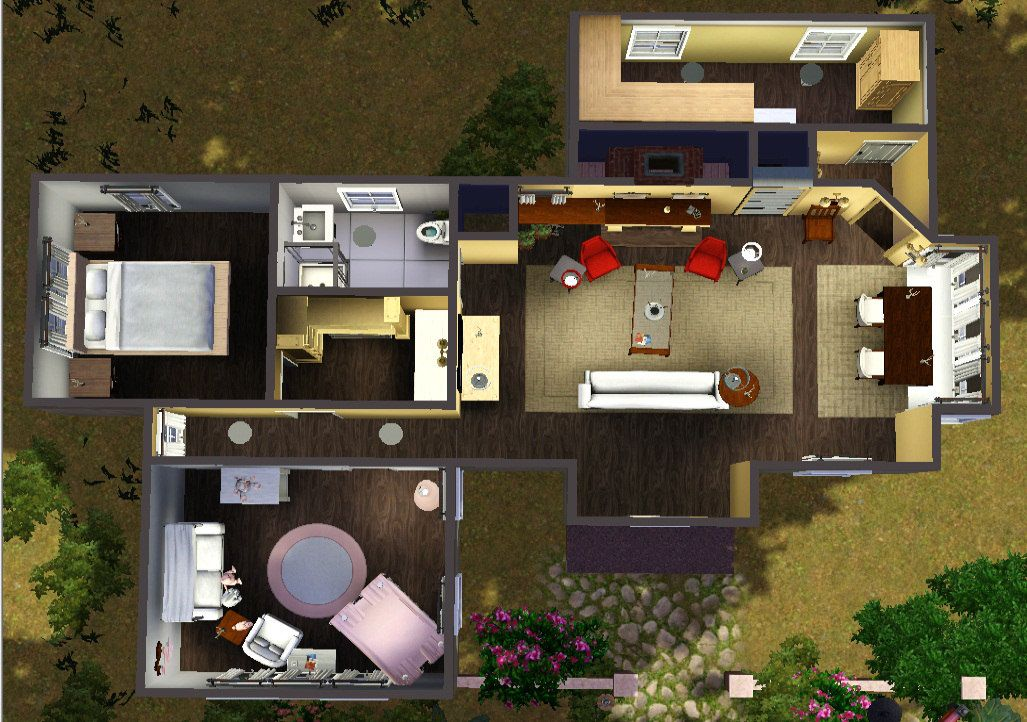 Mod The Sims Cottage Edward Bella Breaking Dawn Part 2 Twilight House House Styles Cottage Gifts