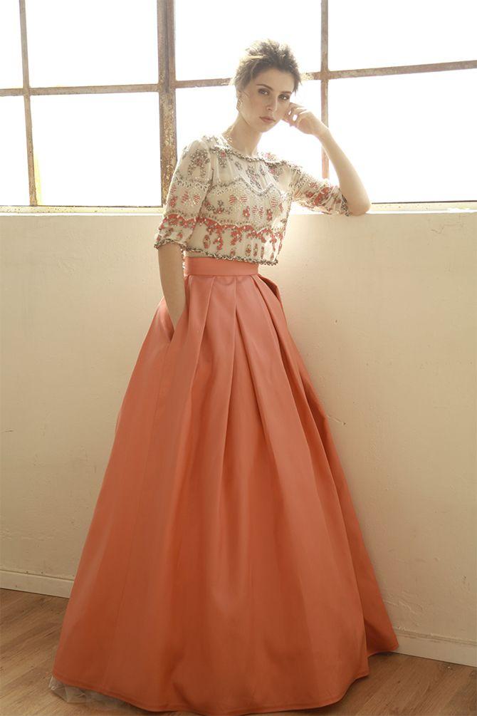 Evelyn חנה מרילוס Indian Gowns Dresses Designer Dresses Indian Lehnga Dress