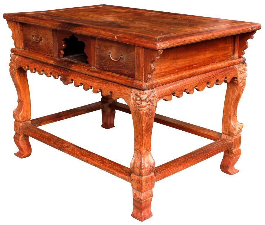 Demonyo Mesa Altar C 18th Century Narra Table Furniture Chair