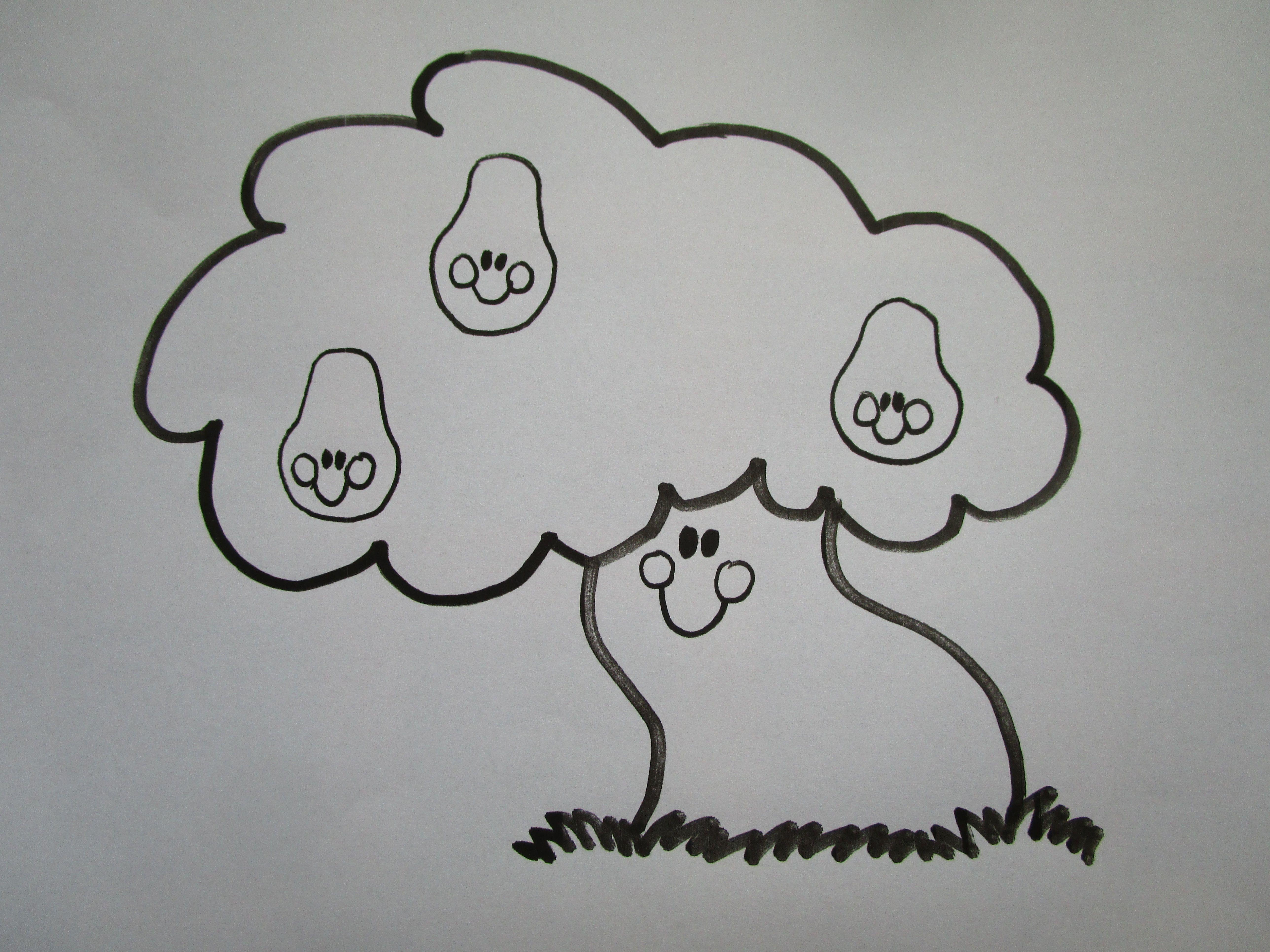 woezel en pip kleurplaat tante perenboom kleurplaten thema