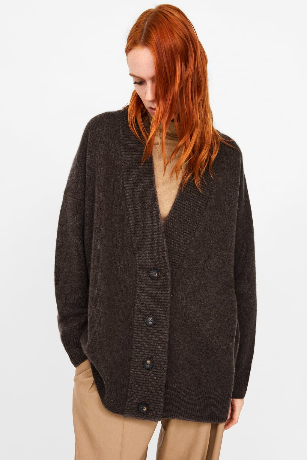 3f50845fa5 Image 4 of BUTTONED CASHMERE CARDIGAN from Zara