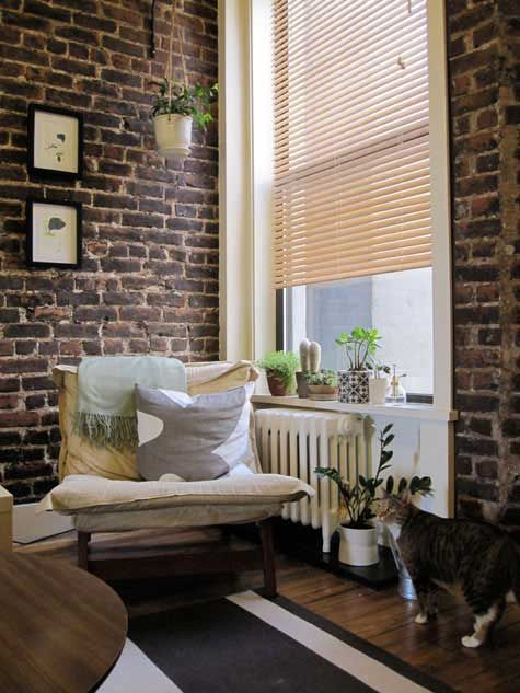 Iu0027ve Always Been Fascinated With Interior Brick Walls. What A Cozy Place To