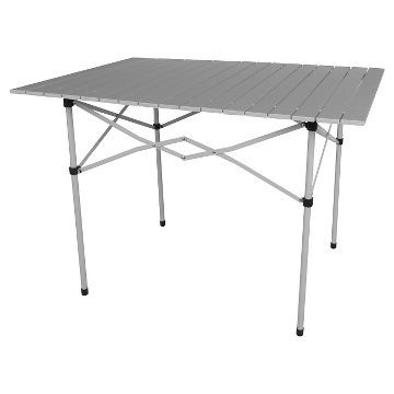Roll Top Folding Camp Table Embark Target 39 In 2020 Camping Table Folding Picnic Table Table