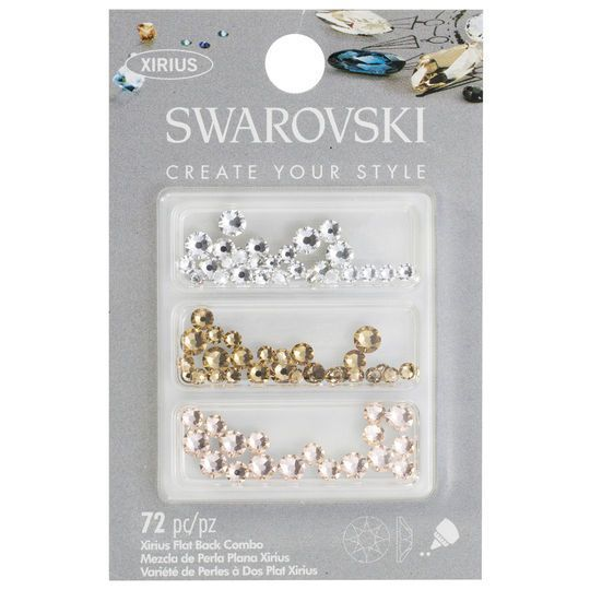8a403a326438 Swarovski Elements Swarovski Create Your Style Flat Back Crystal Mix