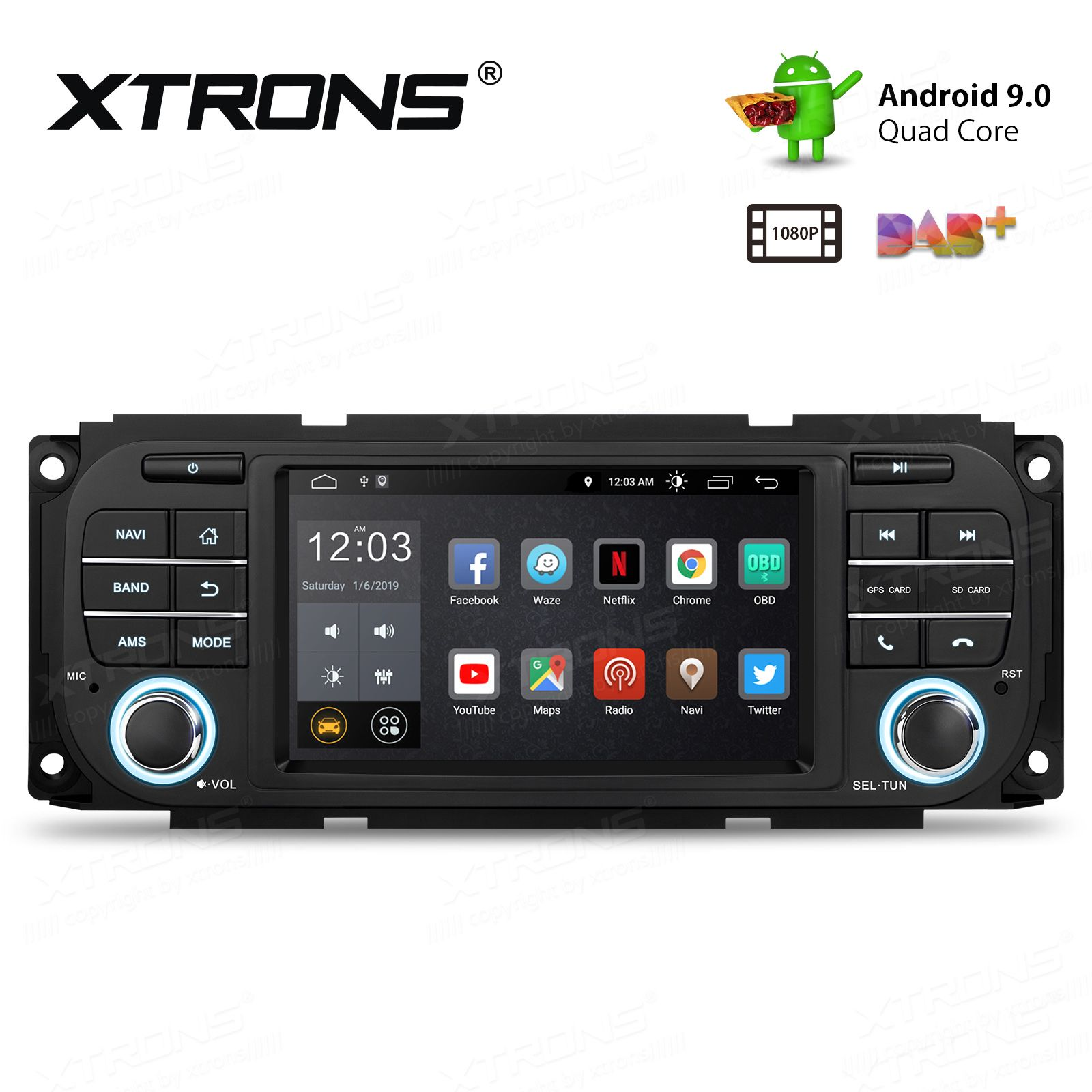 Android 9 0 With Full Rca Output 5 U0026 39  U0026 39  Hd Screen Multifunctional Android Car Stereo Custom Fit For
