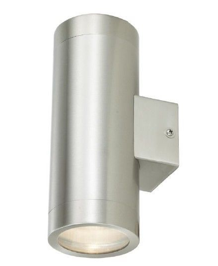 Stainless Steel Outside Twin Wall Light IP65 Up and Down Wall Light