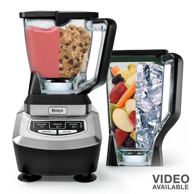 Ninja Mega Complete Kitchen System 1500 Blender & Food ...
