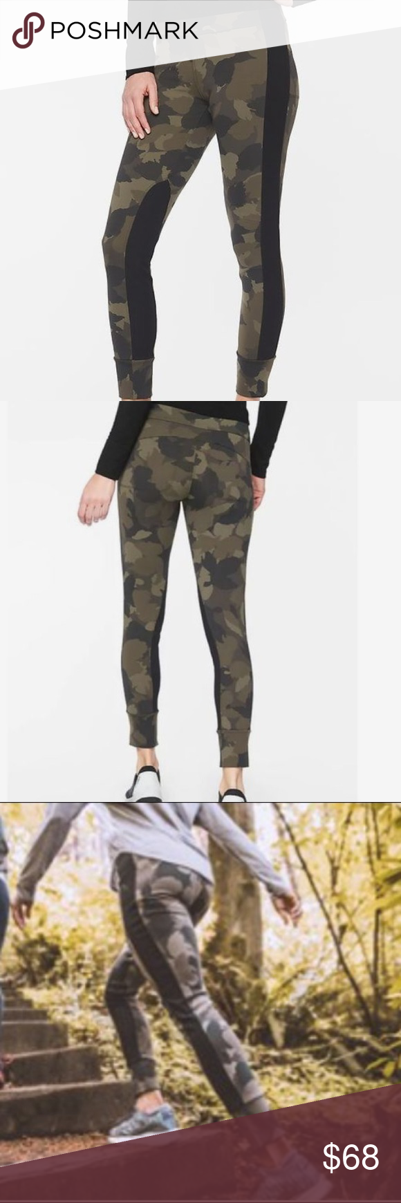 c6f8f5deaf92ff Athleta Essex Camo Hybrid Tight! NWOT! Athletes Essex Camo Hybrid Tight SOLD