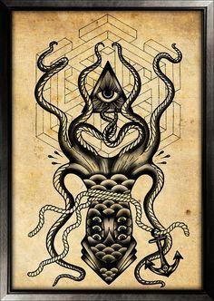 kraken tattoo - Google Search | Tattoo | Pinterest ...