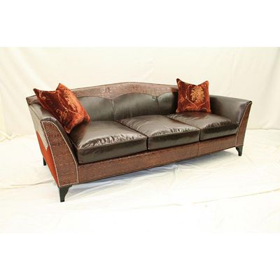 Old Hickory Tannery 5670 98 Sofa Available At Hickory Park Furniture
