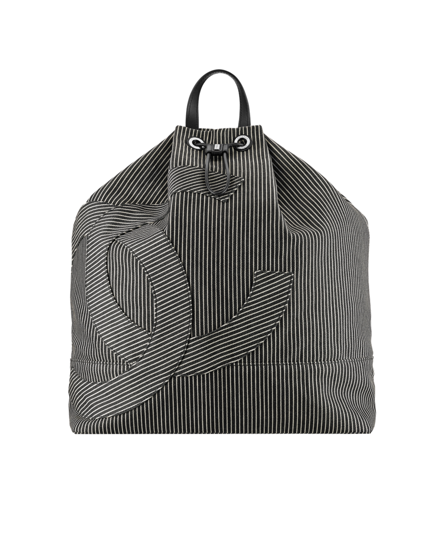 Sac à dos, tissu, veau   métal argenté-beige   noir - CHANEL ... 2c2982b8d26