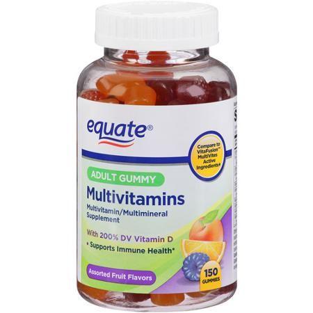 Equate Adult Gummy Multivitamins 150 Count Walmart Com Review