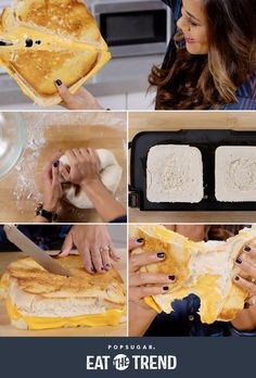 Giant Grilled Cheese Sandwich   POPSUGAR Food