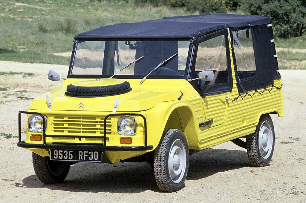 Souvent Hace 45 años, en pleno Mayo francés, nacía el Citroën Mehari  YV16