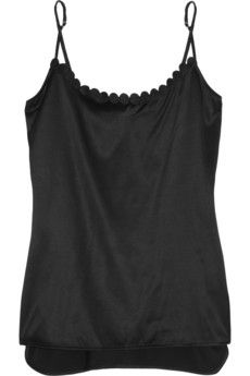 Stella McCartney Fiona Popping silk-blend camisole | THE OUTNET