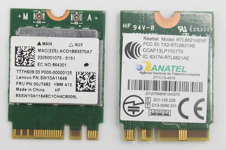 SSEA New for Realtek RTL8821AE 802 11AC NGFF 433Mbps 2 4G/5GHz WiFi