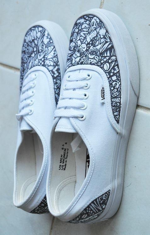 Vans shoes, Canvas shoes, Sharpie shoes