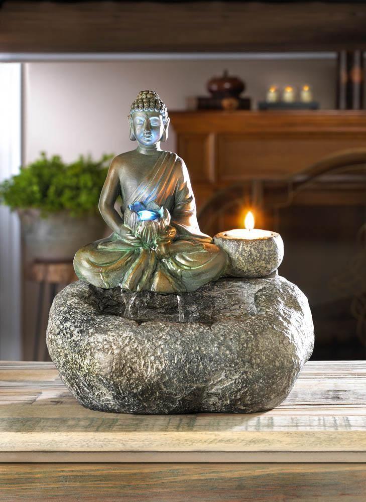 Buddha Tabletop Fountain Water