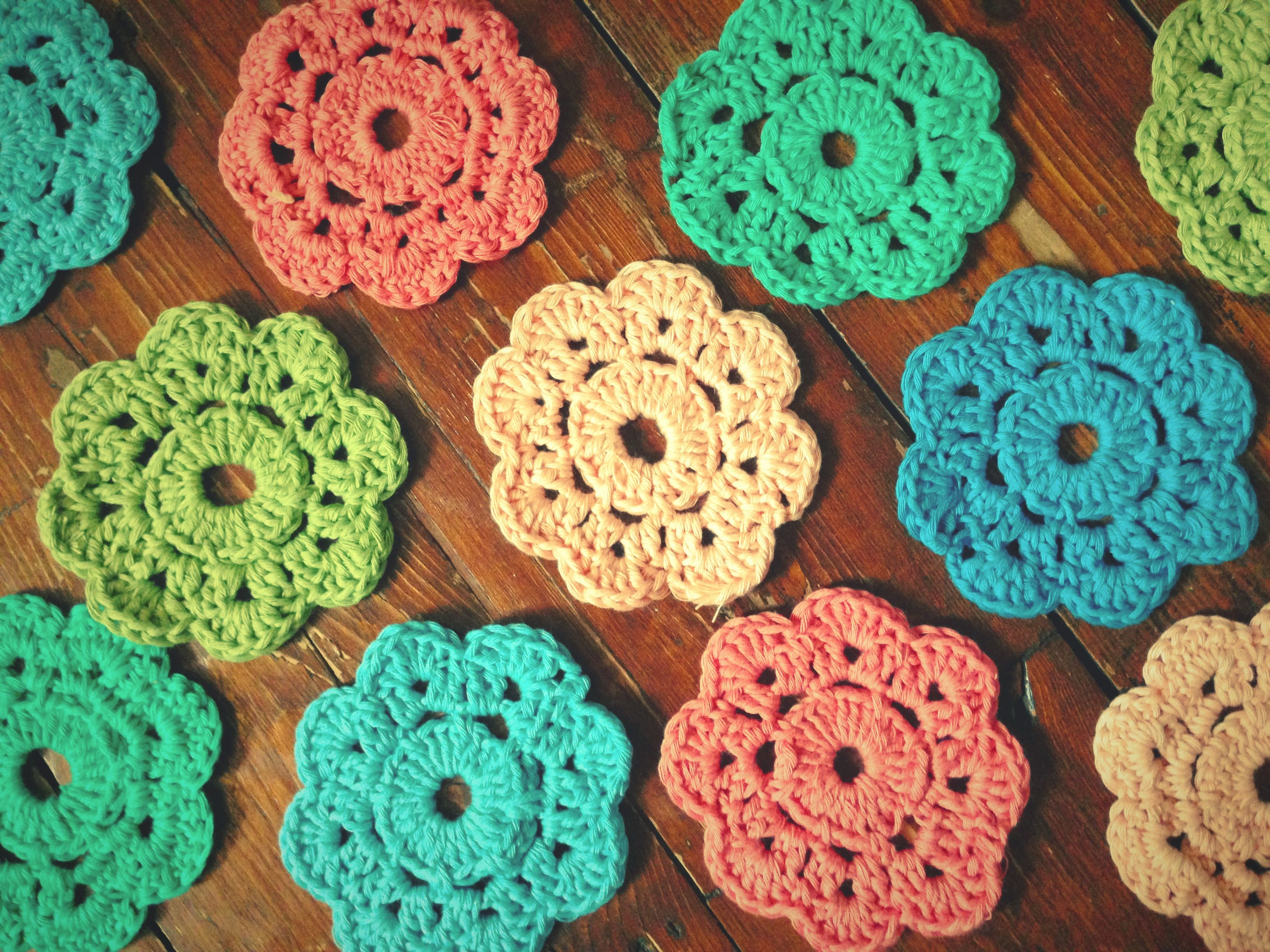 Maybelle crochet flowers i made this morning i love the colours maybelle crochet flowers i made this morning i love the colours theyre bankloansurffo Images