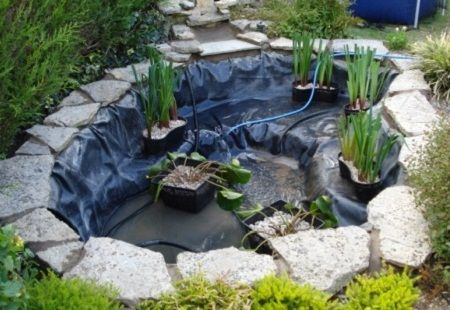 How to make a small pond (well, this one is about 1/3 of my