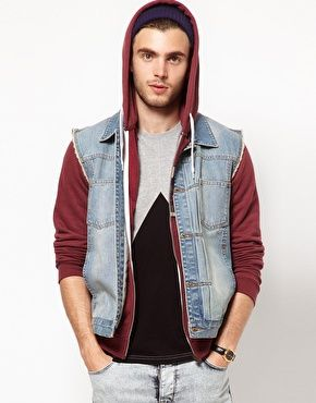 ASOS Sleeveless Denim Jacket | My Style | Pinterest | ASOS ...