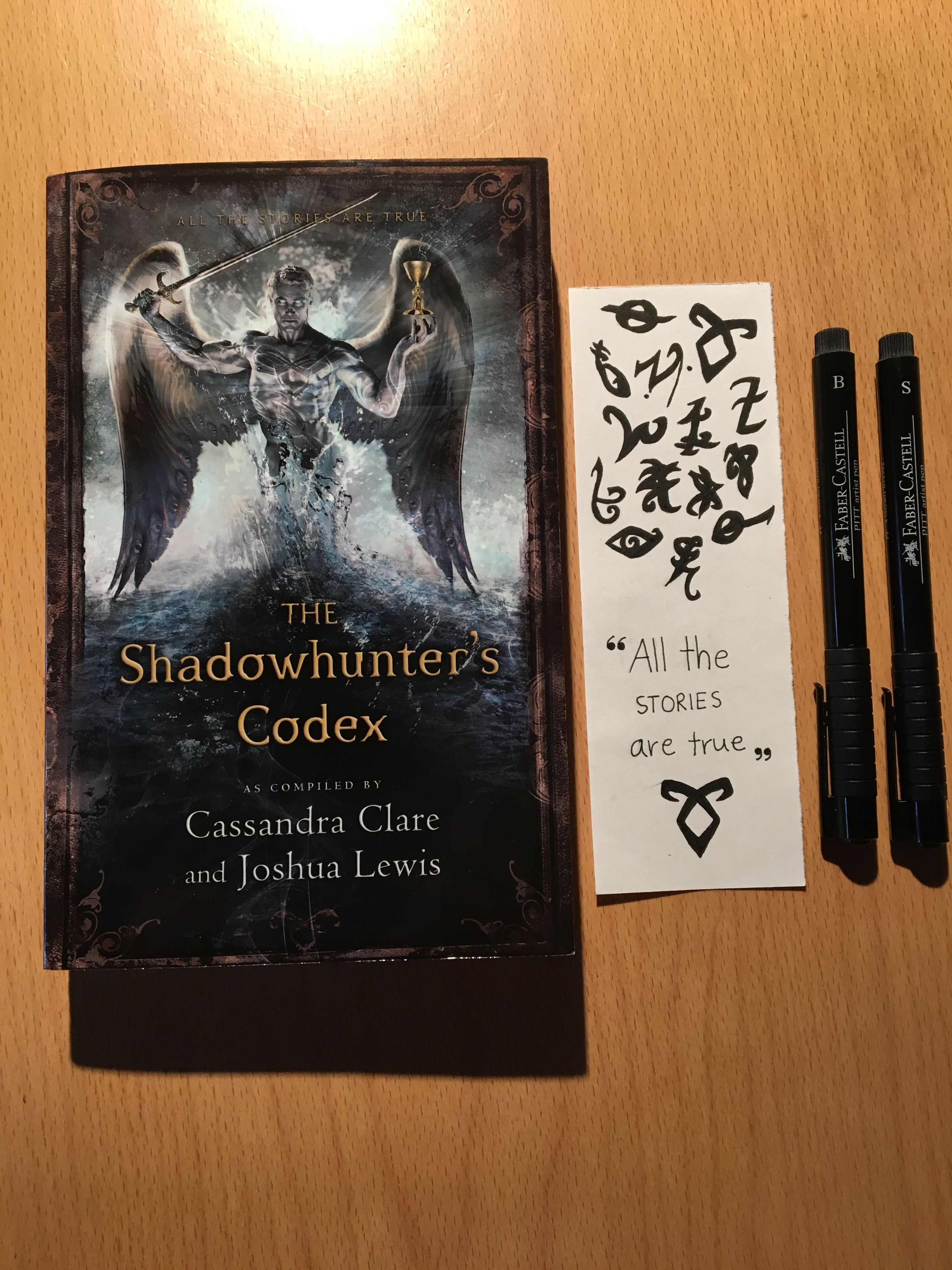bookmark for the shadowhunter's codex   jace   bookmarks