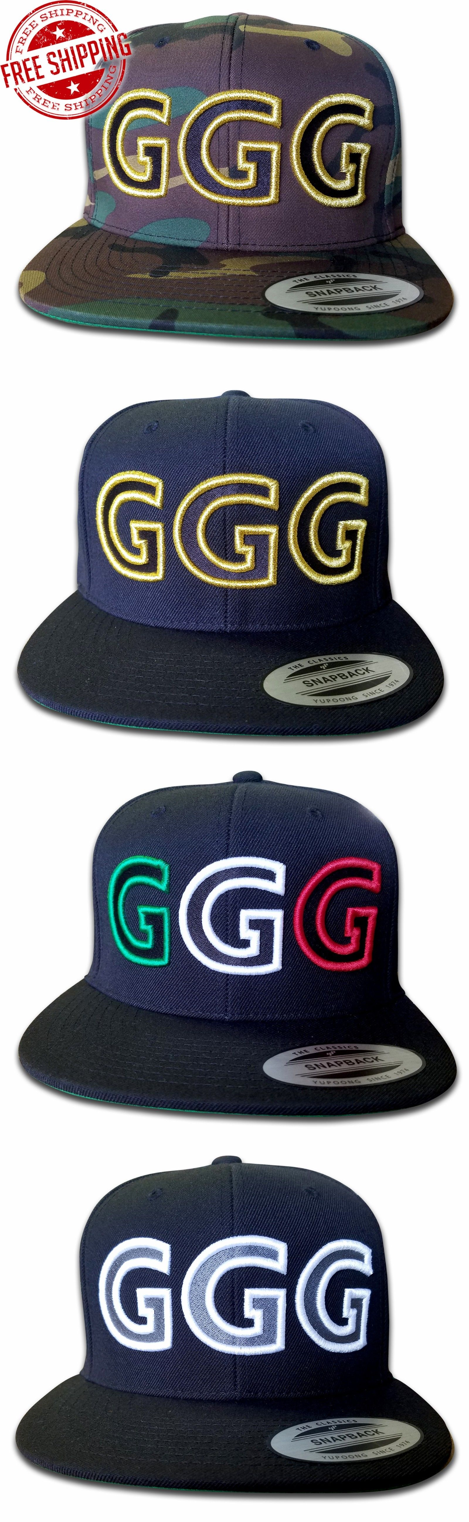 Hats 52365  Ggg Classic Snapback Cap Hat Gennady Golovkin All In Stock -   BUY IT NOW ONLY   34.99 on eBay! e582bc52271