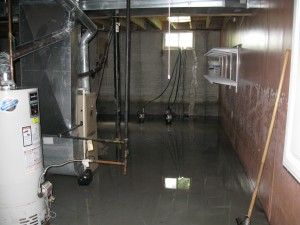 flooded basement. Brilliant Basement Flooded Basement From Failed Sump Pump In Clayton NJ With Flooded Basement