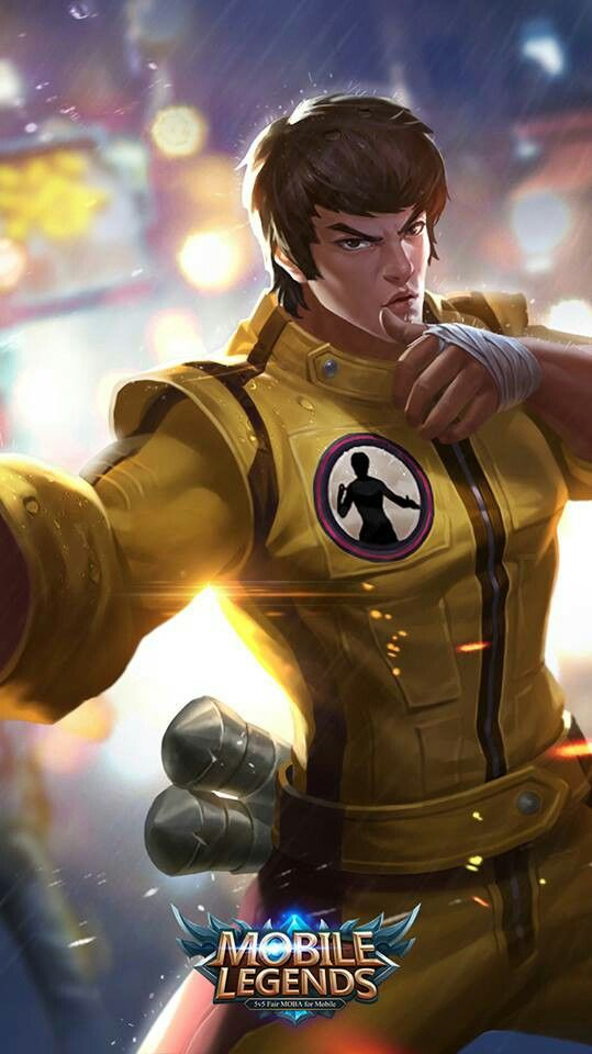 Chou Mobile Legends Wallpaper Hd