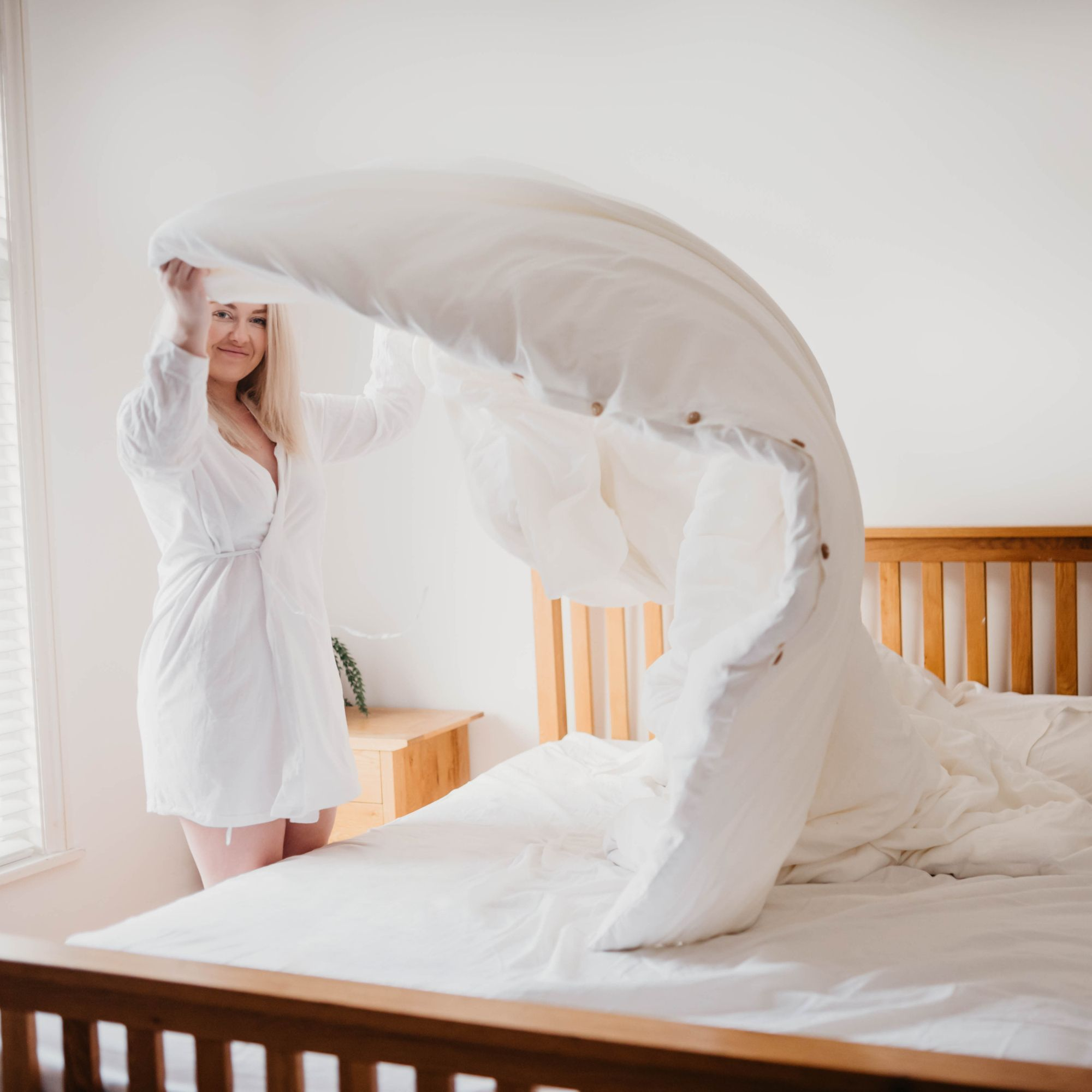 100 Bamboo Bedding Set Designed with Comfort in Mind