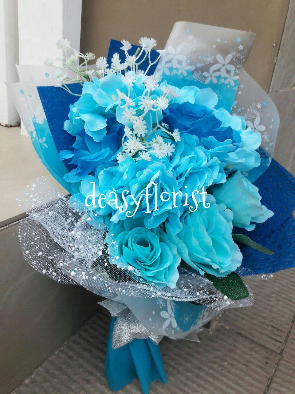 Gambar Bunga Mawar Biru Asli