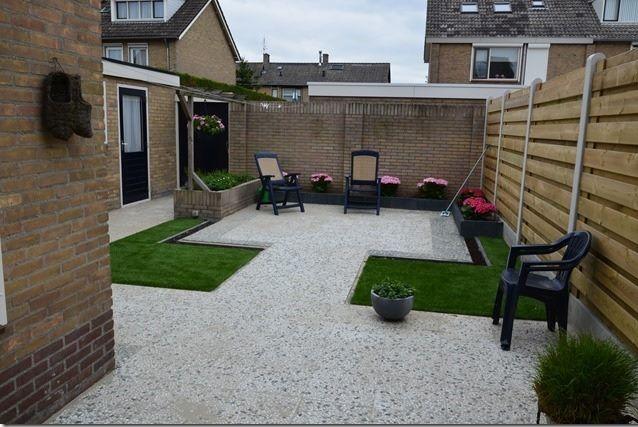 Modern kunstgras terras terrazas
