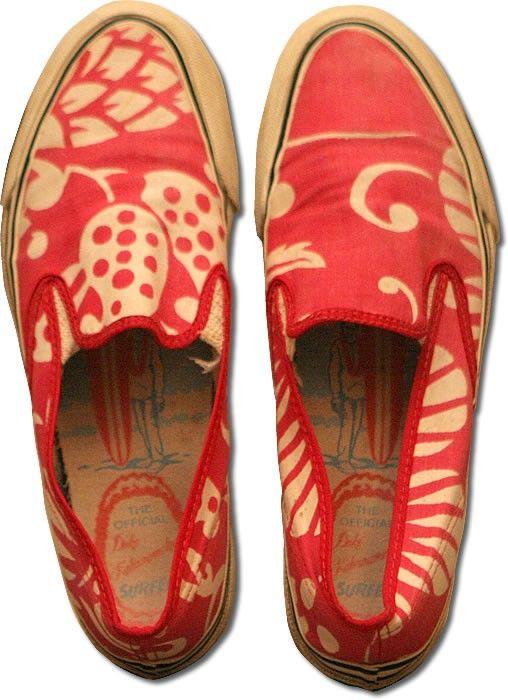86ccbdd115c33b Rare Duke Kahanamoku shoes from 1965 (estimated at  2