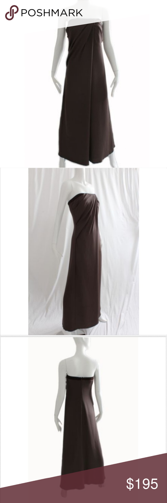 9c340739dbc Gucci Silk Evening Gown Draped Needs Repairs Sz 44 Authentic ...